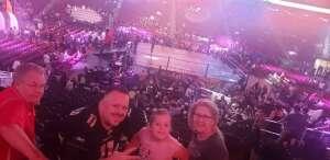 Mike attended Jurassic Fight Night on Oct 8th 2021 via VetTix
