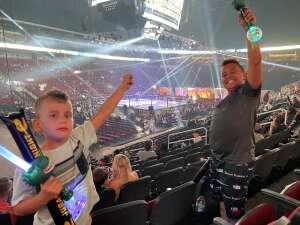 Chris T attended Jurassic Fight Night on Oct 8th 2021 via VetTix