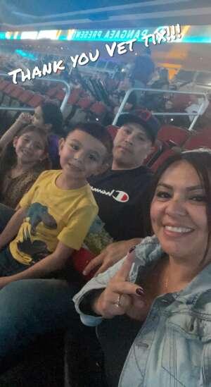 Pina Family  attended Jurassic Fight Night on Oct 8th 2021 via VetTix