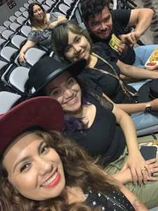Mayra G attended Juanes - Origen Tour 2021 on Oct 10th 2021 via VetTix