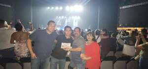 TONY USMC attended Juanes - Origen Tour 2021 on Oct 10th 2021 via VetTix