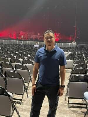 Juan attended Juanes - Origen Tour 2021 on Oct 10th 2021 via VetTix