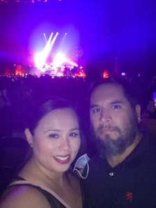 Frankie attended Juanes - Origen Tour 2021 on Oct 10th 2021 via VetTix