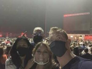 Jason & Jennie attended Juanes - Origen Tour 2021 on Oct 10th 2021 via VetTix
