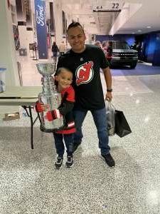David B.  attended New Jersey Devils vs. Chicago Blackhawks - NHL on Oct 15th 2021 via VetTix