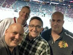 Barry attended New Jersey Devils vs. Chicago Blackhawks - NHL on Oct 15th 2021 via VetTix