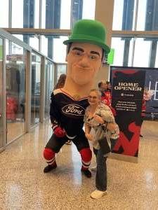 RRB attended New Jersey Devils vs. Chicago Blackhawks - NHL on Oct 15th 2021 via VetTix