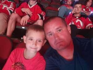 Michael and Jacob  attended New Jersey Devils vs. Chicago Blackhawks - NHL on Oct 15th 2021 via VetTix