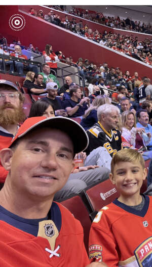 Tim  attended Florida Panthers vs. Pittsburgh Penguins - NHL on Oct 14th 2021 via VetTix