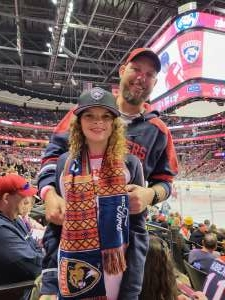 DB attended Florida Panthers vs. Pittsburgh Penguins - NHL on Oct 14th 2021 via VetTix