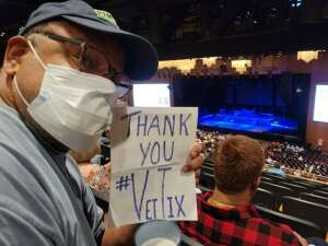 Mike attended Chicago on Oct 8th 2021 via VetTix