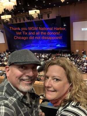 Tony & Geri attended Chicago on Oct 8th 2021 via VetTix