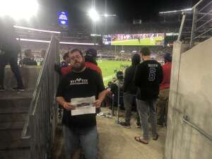 Jeff attended Baltimore Ravens vs. Indianapolis Colts - NFL on Oct 11th 2021 via VetTix
