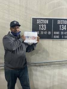 Anthony attended Baltimore Ravens vs. Indianapolis Colts - NFL on Oct 11th 2021 via VetTix