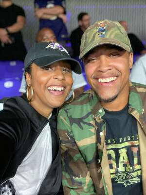 Jermaine Maull attended Baltimore Ravens vs. Indianapolis Colts - NFL on Oct 11th 2021 via VetTix