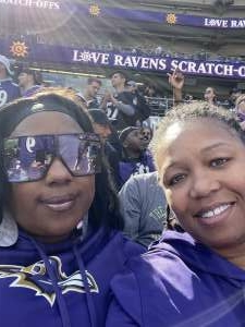 T. Craig attended Baltimore Ravens vs. Indianapolis Colts - NFL on Oct 11th 2021 via VetTix
