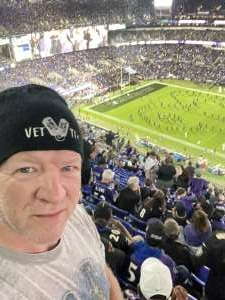 D.S. attended Baltimore Ravens vs. Indianapolis Colts - NFL on Oct 11th 2021 via VetTix