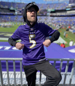 Joseph Sterling attended Baltimore Ravens vs. Indianapolis Colts - NFL on Oct 11th 2021 via VetTix