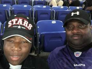 Cory attended Baltimore Ravens vs. Indianapolis Colts - NFL on Oct 11th 2021 via VetTix