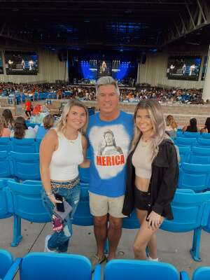 Ben Johnson attended Jonas Brothers: the Remember This Tour on Oct 12th 2021 via VetTix