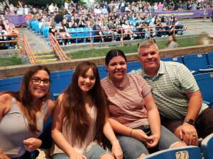 Lee attended Jonas Brothers: the Remember This Tour on Oct 12th 2021 via VetTix