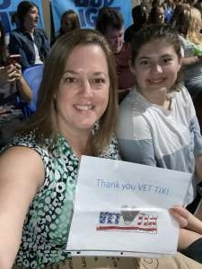 Dr. B attended Jonas Brothers: the Remember This Tour on Oct 12th 2021 via VetTix