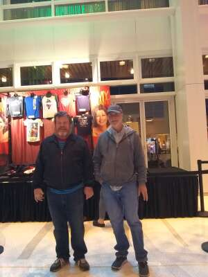 George attended Amy Grant Line by Line on Oct 9th 2021 via VetTix
