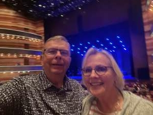 Kim attended Amy Grant Line by Line on Oct 9th 2021 via VetTix