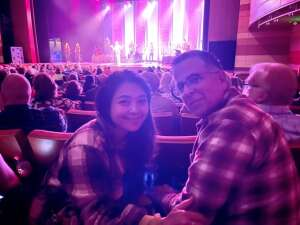Dan attended Amy Grant Line by Line on Oct 9th 2021 via VetTix