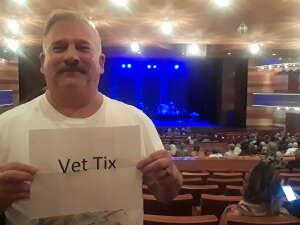 Donald attended Amy Grant Line by Line on Oct 9th 2021 via VetTix