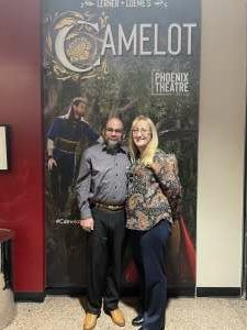 Grateful  attended Lerner and Loewes Camelot on Oct 14th 2021 via VetTix