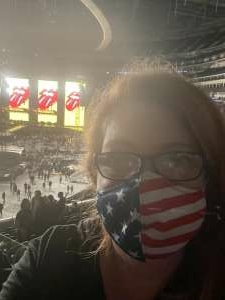 Rebekah  Adams attended The Rolling Stones - No Filter 2021 on Oct 14th 2021 via VetTix
