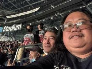 Manny  attended The Rolling Stones - No Filter 2021 on Oct 14th 2021 via VetTix