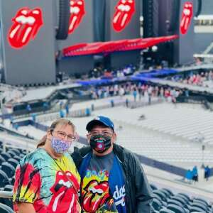 Gil attended The Rolling Stones - No Filter 2021 on Oct 14th 2021 via VetTix