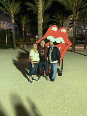 Brian attended The Rolling Stones - No Filter 2021 on Oct 14th 2021 via VetTix
