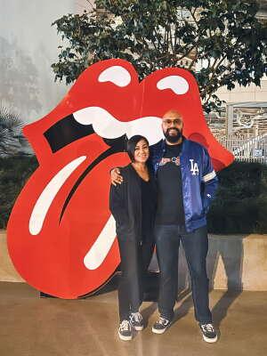 Gabriel Ortega attended The Rolling Stones - No Filter 2021 on Oct 14th 2021 via VetTix