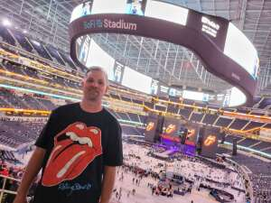Jon W. attended The Rolling Stones - No Filter 2021 on Oct 14th 2021 via VetTix