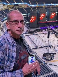 Lex attended The Rolling Stones - No Filter 2021 on Oct 14th 2021 via VetTix
