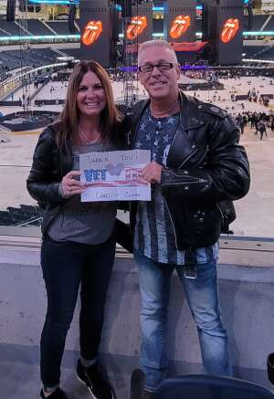 Chris attended The Rolling Stones - No Filter 2021 on Oct 14th 2021 via VetTix