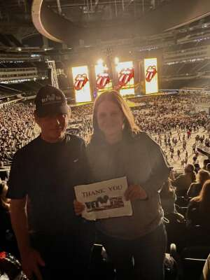 Jim attended The Rolling Stones - No Filter 2021 on Oct 14th 2021 via VetTix