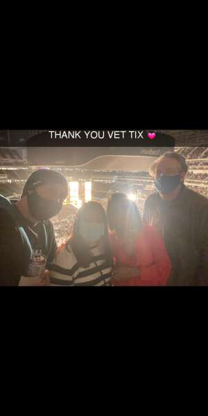 Karla  attended The Rolling Stones - No Filter 2021 on Oct 14th 2021 via VetTix