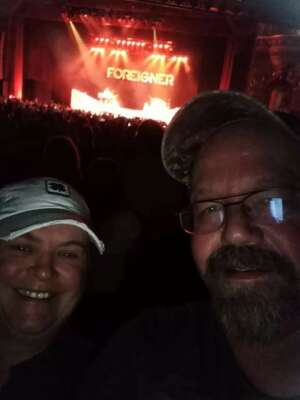 Michelle attended Foreigner - the Greatest Hits on Oct 14th 2021 via VetTix