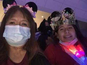 J Lamb attended Disney on Ice Presents Dream Big on Oct 14th 2021 via VetTix