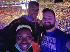 anon attended New York Knicks vs. Washington Wizards - NBA on Oct 15th 2021 via VetTix