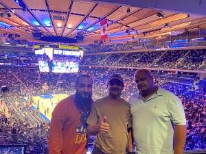 Juan attended New York Knicks vs. Washington Wizards - NBA on Oct 15th 2021 via VetTix