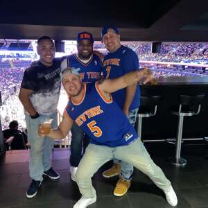 Amaury L attended New York Knicks vs. Washington Wizards - NBA on Oct 15th 2021 via VetTix