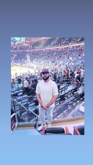 Ray  attended New York Knicks vs. Washington Wizards - NBA on Oct 15th 2021 via VetTix