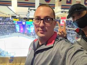 Rcclmns12  attended New York Rangers vs. Dallas Stars - NHL on Oct 14th 2021 via VetTix