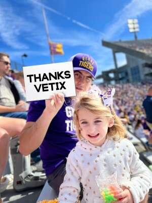 Click To Read More Feedback from Louisiana State University Tigers vs. Florida - NCAA Football