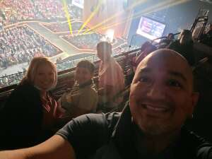 Thomas attended The Dude Perfect 2021 Tour on Oct 14th 2021 via VetTix
